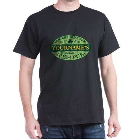 custom irish pub vintage t shirt by nskiny