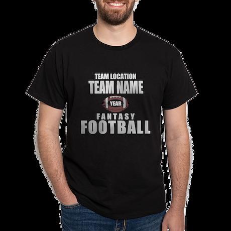Your Team Fantasy Gray Dark T-Shirt