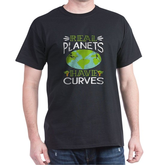 Real Planets Have Curves Round Earth Society