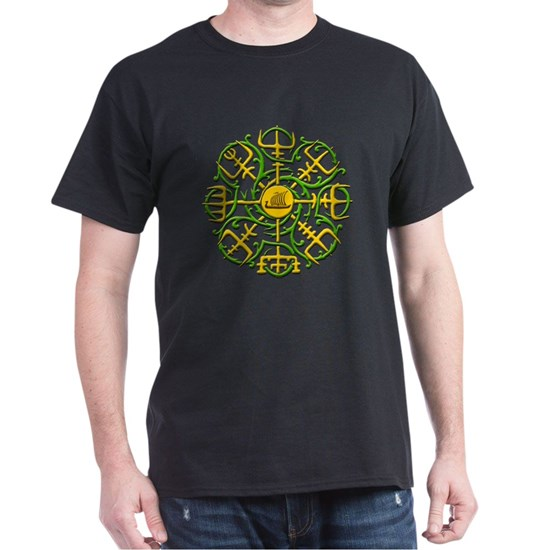 Knotwork Vegvisr - Viking Compass YG