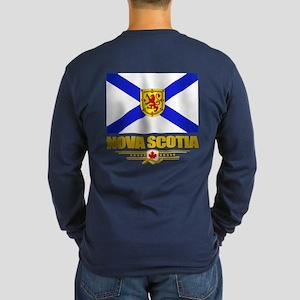 Nova Scotia Flag Long Sleeve T-Shirt