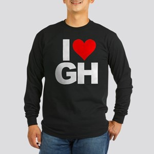 General Hospital I Heart Long Sleeve Dark T-Shirt