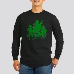design Long Sleeve Dark T-Shirt