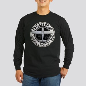 Aviation Private Pilot Long Sleeve T-Shirt