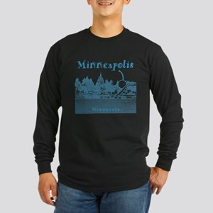 Minneapolis Long Sleeve Dark T-Shirt