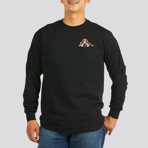 Teddy the English Bulldog Upper Chest Long Sleeve