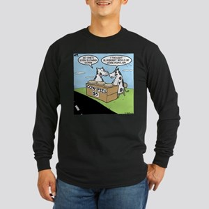 Cow Pies Long Sleeve Dark T-Shirt