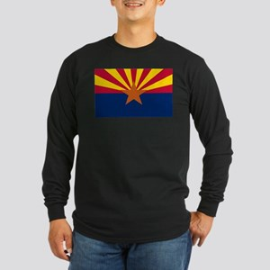 Flag Of Arizona Long Sleeve T-Shirt