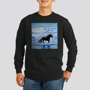 Running Free by the Sea 2 Long Sleeve T-Shirt