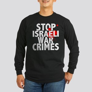 2-war_crimes_dark Long Sleeve T-Shirt