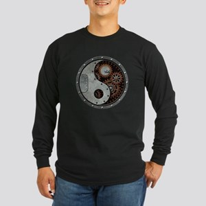 Steampunk Yin Yang Long Sleeve T-Shirt