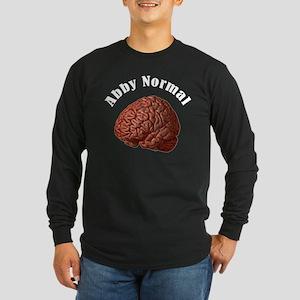 Abby Normal Long Sleeve Dark T-Shirt