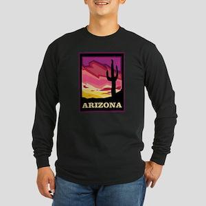 Arizona Long Sleeve Dark T-Shirt