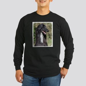 Afghan Hound AA017D-101 Long Sleeve Dark T-Shirt