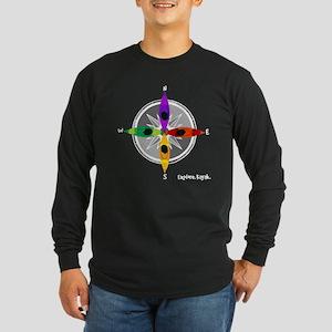 compass_kayak Long Sleeve T-Shirt