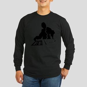 Dj Mixing Turntables Club Musi Long Sleeve T-Shirt