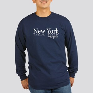 New York Long Sleeve Dark T-Shirt