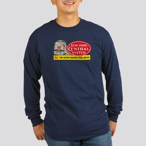 New York Central 2 Long Sleeve Dark T-Shirt