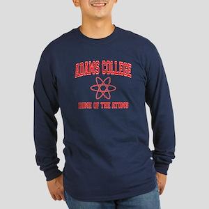 Adams College Long Sleeve Dark T-Shirt