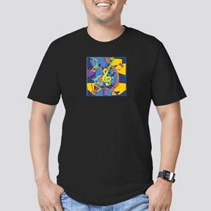 Bright Abstract music design T-Shirt