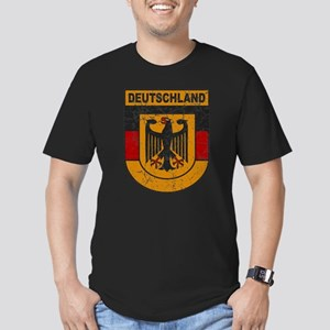 Deutschland (Germany) Shield Men's Fitted T-Shirt
