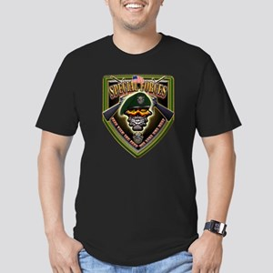 US Army Special Forces Shield Men's Fitted T-Shirt