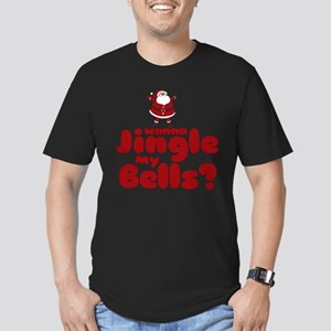 Jingle my Bells Men's Fitted T-Shirt (dark)