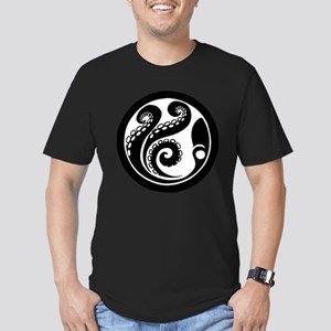 Octopus Men's Fitted T-Shirt (dark)