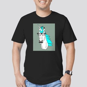 81bf920f8 Funny Unicorn Men's Fitted T-Shirts - CafePress