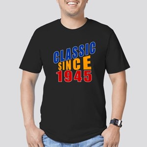 Classic Since 1945 Men's Fitted T-Shirt (dark)