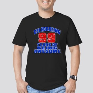 Celebrating 99 Years O Men's Fitted T-Shirt (dark)