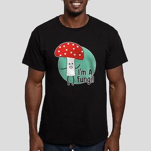 I'm A Fungi Men's Fitted T-Shirt (dark)