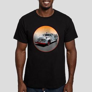 The Big Job Firetruck Men's Fitted T-Shirt (dark)