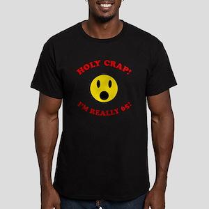 Holy Crap 65th Birthday Men's Fitted T-Shirt (dark