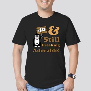 Adorable 40th Birthday Men's Fitted T-Shirt (dark)
