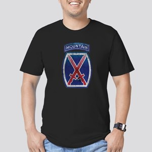 10th Mountain Division - Clim Men's Fitted T-Shirt