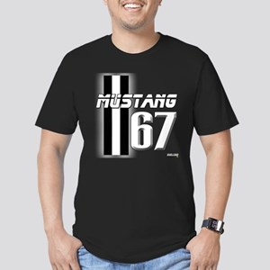 Mustang 67 Men's Fitted T-Shirt (dark)