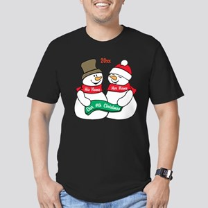 Our Nth Christmas Men's Fitted T-Shirt (dark)