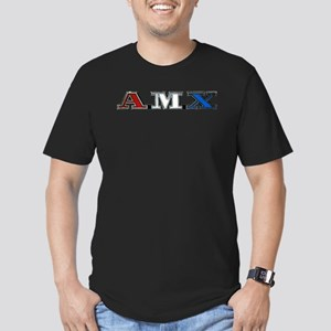 AMX Men's Fitted T-Shirt (dark)