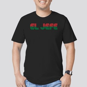 El Jefe Men's Fitted T-Shirt (dark)