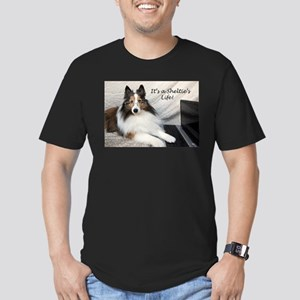 Its a Shelties Life Men's Fitted T-Shirt (dark)