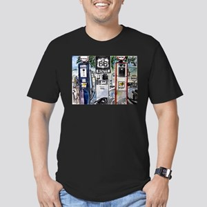 route_66 Men's Fitted T-Shirt (dark)
