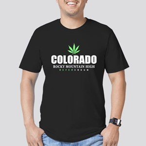 Colorado Referendum Men's Fitted T-Shirt (dark)