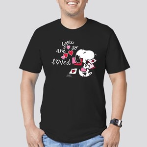 Snoopy - You Are So Lo Men's Fitted T-Shirt (dark)