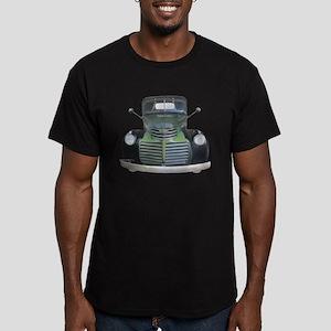 1947 Antique Truck Men's Fitted T-Shirt (dark)