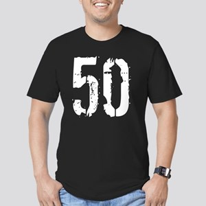 Grunge 50 Sty Men's Fitted T-Shirt (dark)