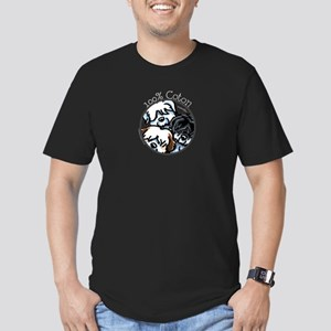 100% Coton Men's Fitted T-Shirt (dark)