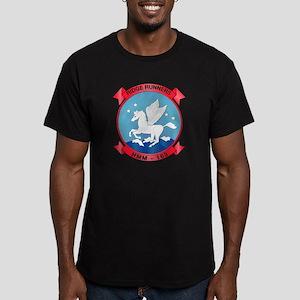 HMM-163 Men's Fitted T-Shirt (dark)