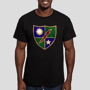75th Infantry (Ranger) Men's Fitted T-Shirt (dark)