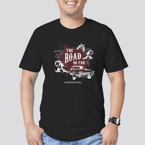 SUPERNATURAL The Road Men's Fitted T-Shirt (dark)